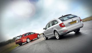 Skoda Superb estate vs Vauxhall Insignia