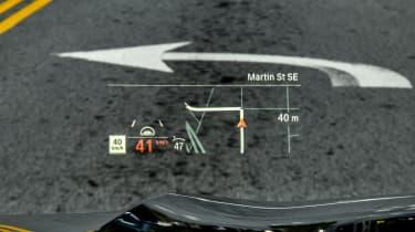BMW X5 - Head-up Display