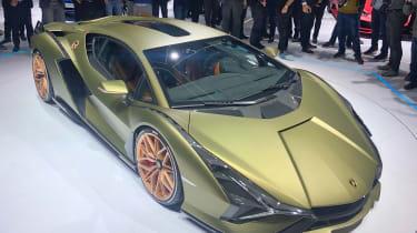 Lamborghini Sian - Frankfurt front