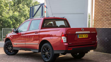 SsangYong Musso - rear three quarter