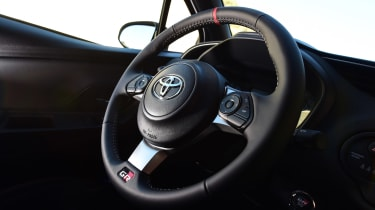 Toyota Yaris GRMN - steering wheel