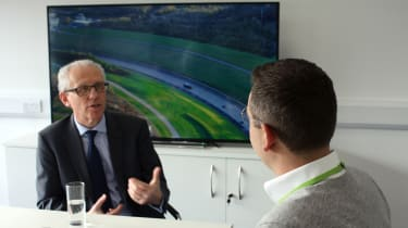 Britain's driverless car network - interview