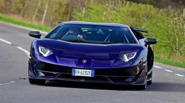Lamborghini Aventador SVJ - front action