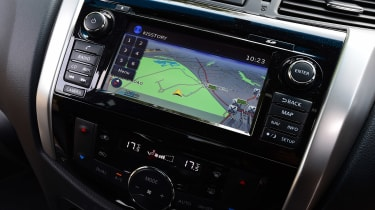 Nissan Navara long-term - infotainment