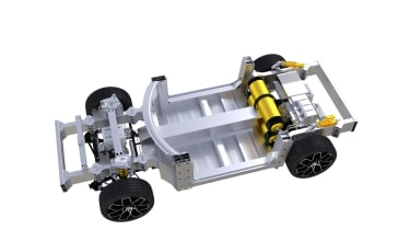 Piech Mark Zero fuel cell platform