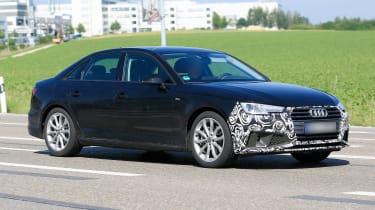 Audi A4 facelift - front/side