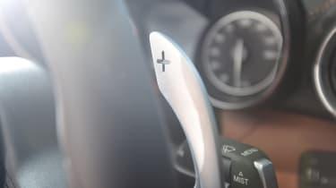 Long-term test review: Alfa Romeo Giulia Veloce - paddle shifter