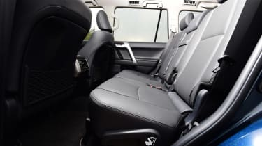 Toyota Land Cruiser - rear seats