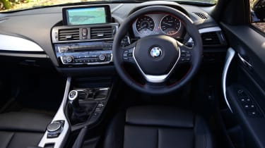 BMW 220d Convertible interior