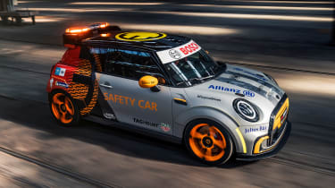 MINI Electric Pacesetter - front action