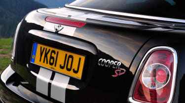 The Mini Cooper SD will produce 141bhp and 305nm of torque, which is very good performance when compared to rivals.