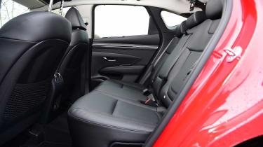Hyundai Tucson MHEV - rear seats