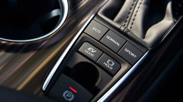 Toyota Camry - centre console
