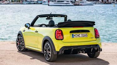 MINI JCW 2021 facelift - rear