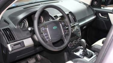 2013 Land Rover Freelander interior