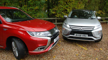 Mitsubishi Eclipse Cross - long termer second report with Outlander PHEV