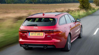 Jaguar XF Sportbrake - rear
