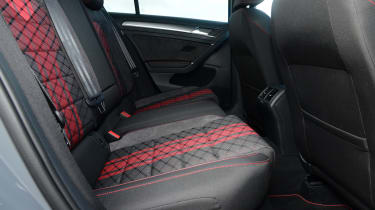 Volkswagen Golf GTI TCR - rear seats