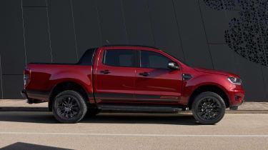 Ford Ranger Stormtrak - side