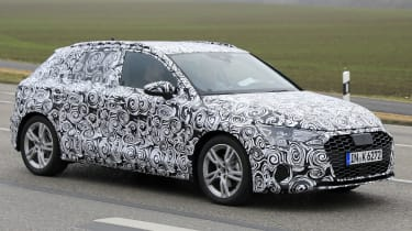 2019 Audi A3 side