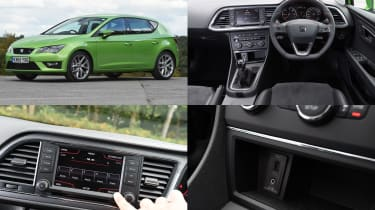 SEAT Full Link infotainment system - test car: SEAT Leon
