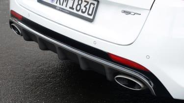 Kia Optima GT - rear detail