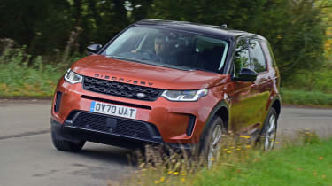 Land Rover Discovery Sport D180 first report - front cornering
