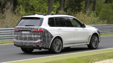 BMW X7 spy shot - rear