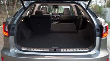 Lexus RX 450h boot