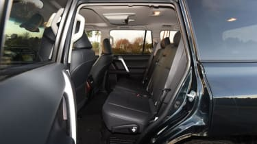 Used Toyota Land Cruiser - rear seats