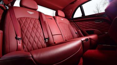 Bentley Mulsanne Speed 2017 - rear seats