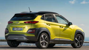 Hyundai Kona Premium SE 2017 - rear quarter static