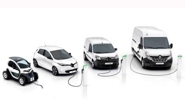 Renault Kangoo Z.E. and Master Z.E. grow electric van range - pictures
