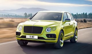 Bentley Bentayga Pikes Peak Limited Edition - front