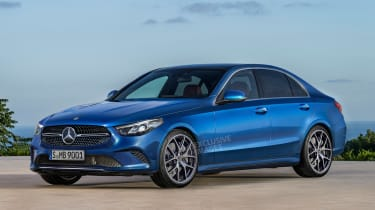 Mercedes C-Class - front (watermarked)