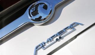Vauxhall Amper badge