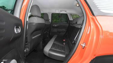 Citroen C3 Aircross - back seats