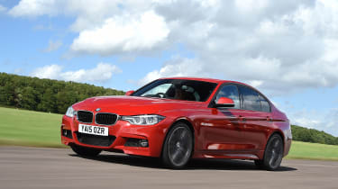 BMW 3 Series 2015 320d - front tracking