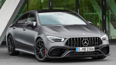 Mercedes-AMG CLA 45 - front 3/4 static