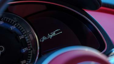 Bugatti Chiron - The Quail instruments