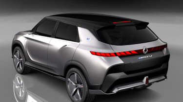 SsangYong e-SIV concept - rear static