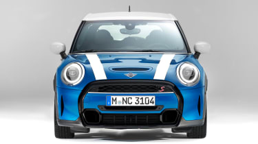 MINI 5-door hatch facelift - full front