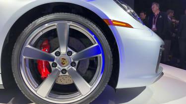 Porsche 911 - LA reveal wheel