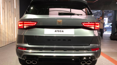Cupra Ateca SUV rear end