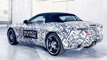Jaguar F-Type rear three-quarters