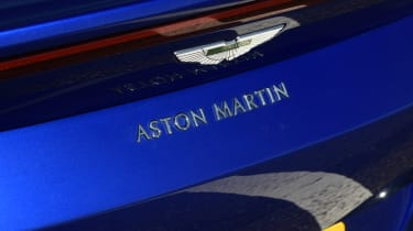 Aston Martin Vantage badge