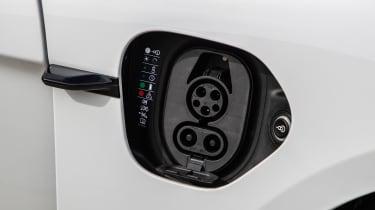 Porsche Taycan 4S - charging port