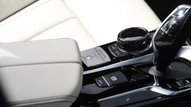 Alpina B5 Touring - controls