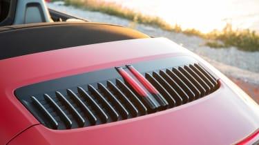 New Porsche 911 Cabriolet 2019 rear detail