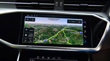 Audi A6 Allroad - sat-nav